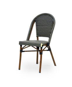 silla Arles aluminio rattan colores exterior bistro